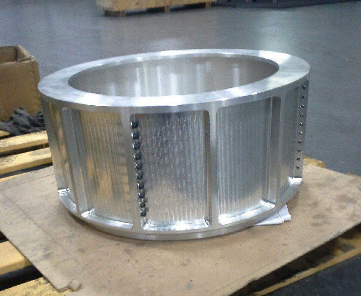 machined 6061 aluminum part